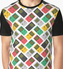 Gameboy Play it Loud! (white) Graphic T-Shirt