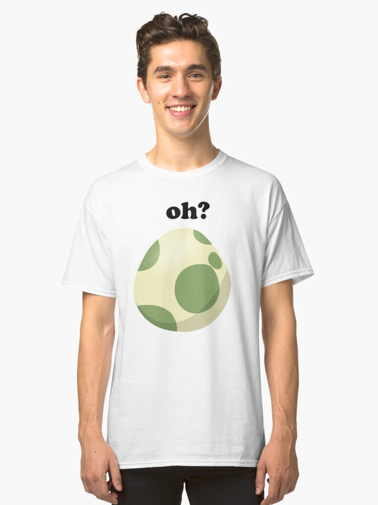 Pokemon Go Egg Hatching Classic T-Shirt Front