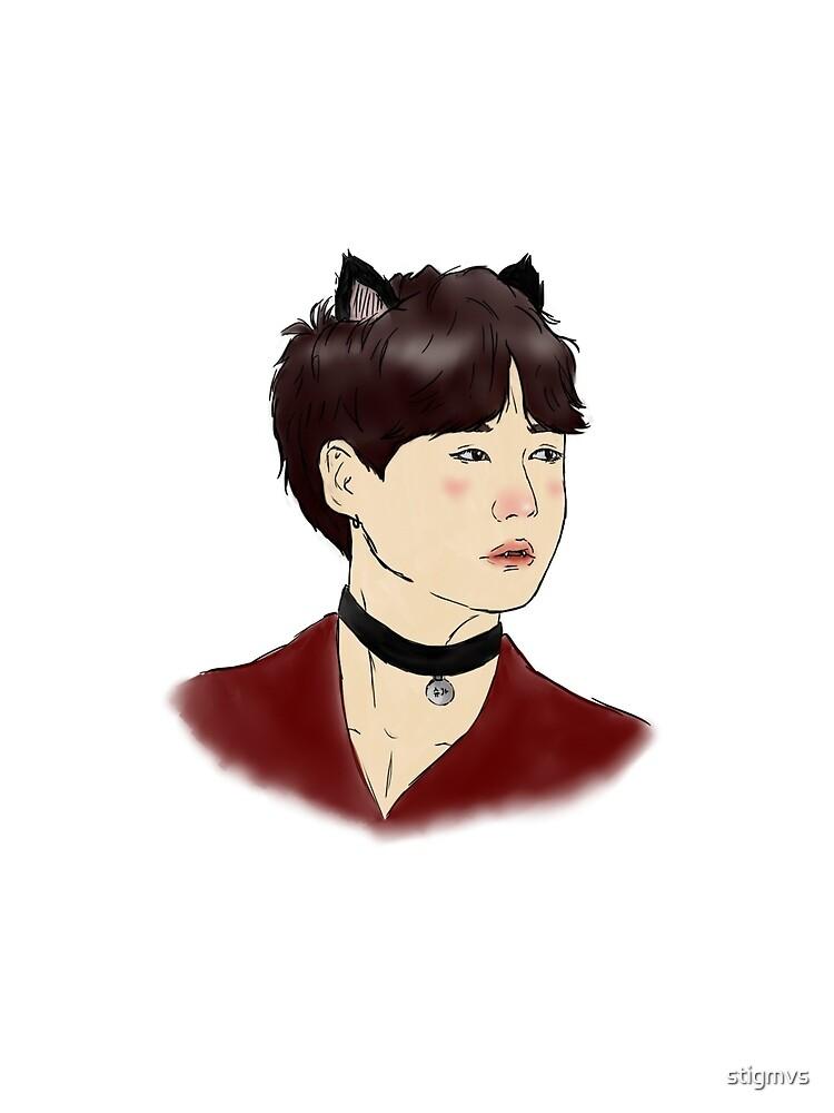 Cat!Yoongi by stigmvs