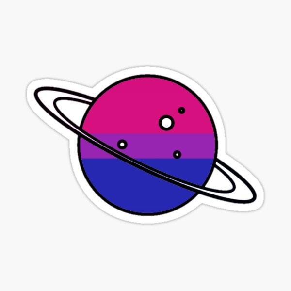 Bi Planet Sticker