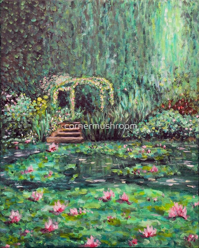 Monet's Garden by Cindy Lin