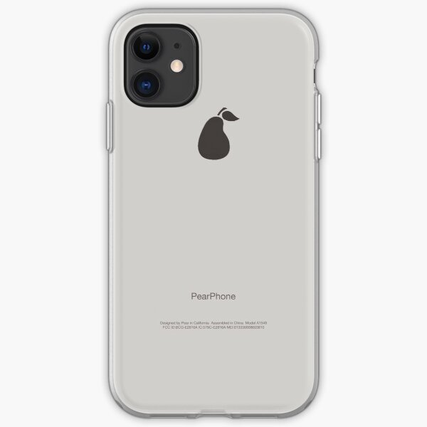 PearPhone Case iPhone Soft Case
