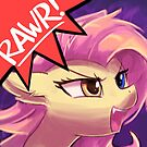 RAWR - Flutterbat Melody by lumineko