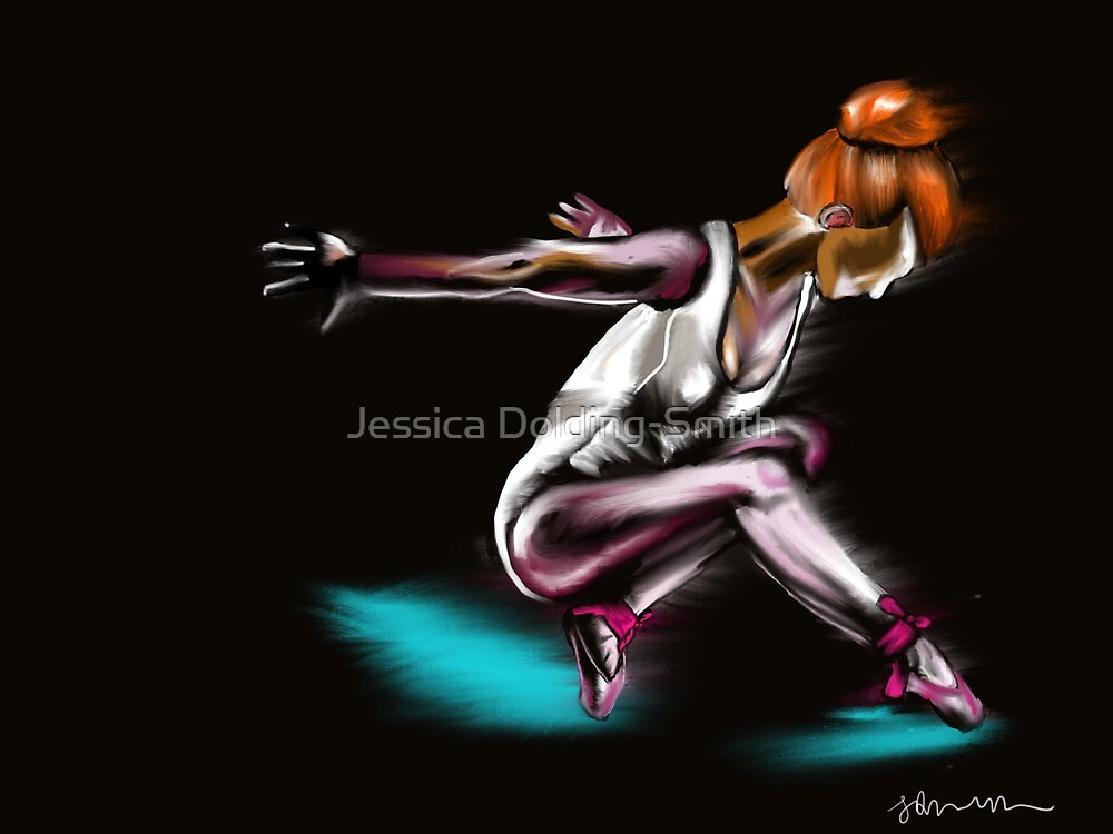 Electric Dancer by Jessica Dolding-Smith