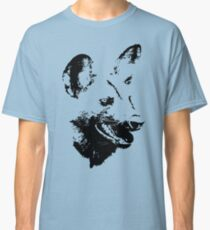 Wild Dog Portrait | African Wildlife Classic T-Shirt