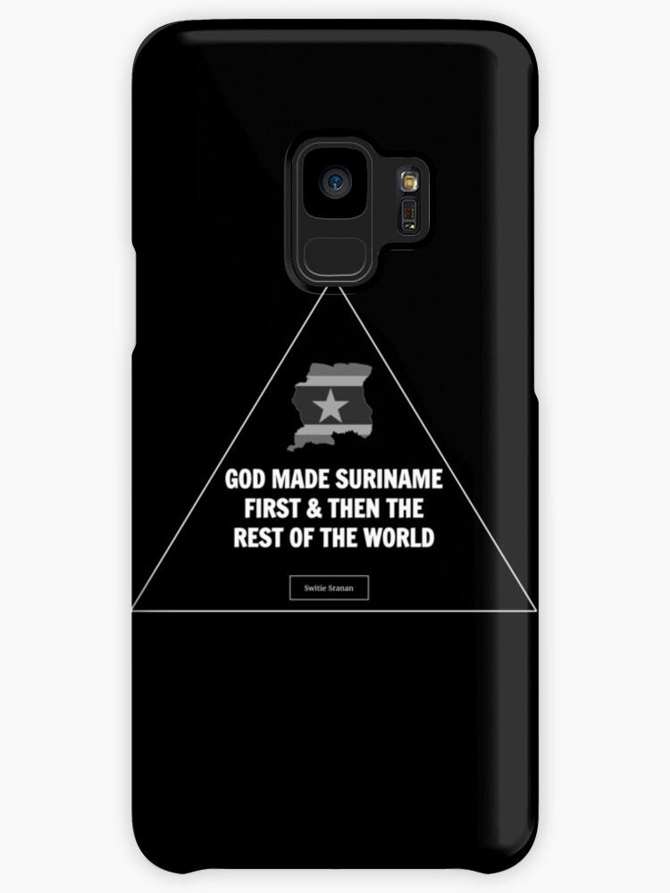 Suriname First Samsung Galaxy S3-S7 Edge Case by SurinameFirst