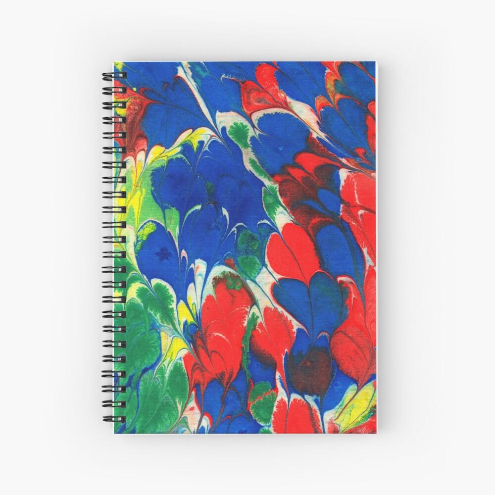 English Cottage Garden Spiral Notebook