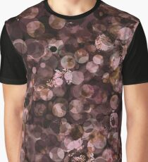 Colored Circle Texture 2 Graphic T-Shirt