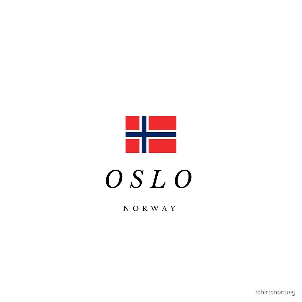 Oslo in Norway by tshirtsnorway