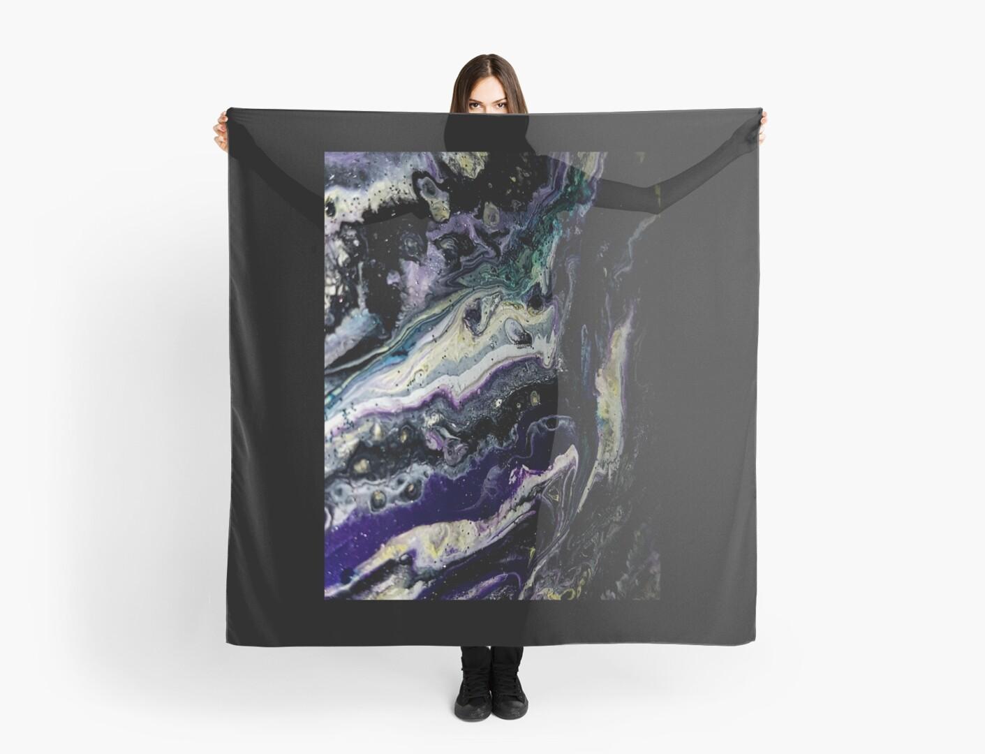 Purple Moon by craftingsandy