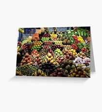 Fruit & Veg Greeting Card