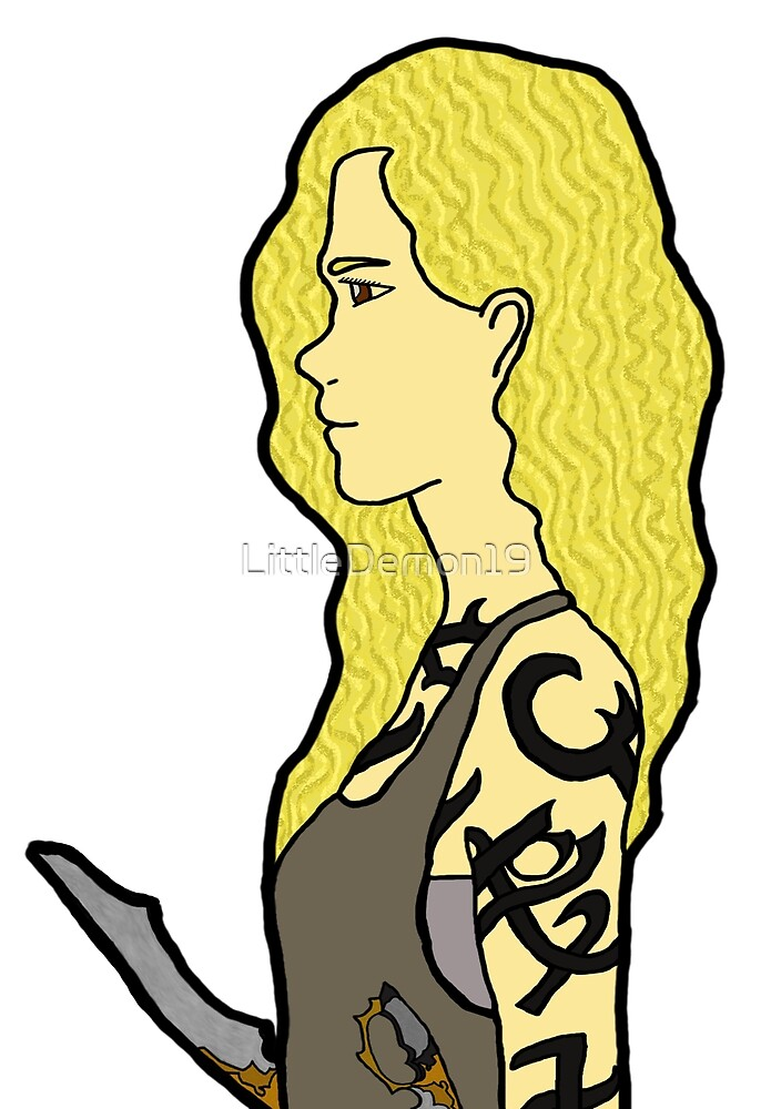 Shadowhunters Emma Carstairs. The dark artefacts.  by LittleDemon19