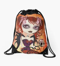 Fallen Angel T-shirt Drawstring Bag