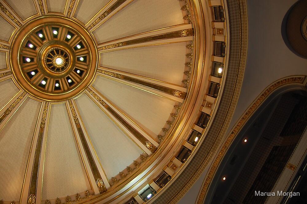 Cairo University's Dome. by Marwa Morgan