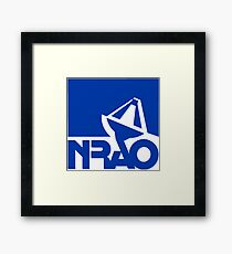 National Radio Astronomy Observatory (NRAO) Logo Framed Print