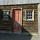 The Red Door by hans p olsen