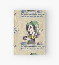 The Mad Hatter Hardcover Journal