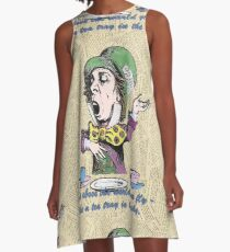 The Mad Hatter A-Line Dress