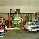 The Old Garage in Maldon, Victoria by hans p olsen