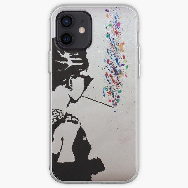 Audrey Hepburn Art iPhone Soft Case