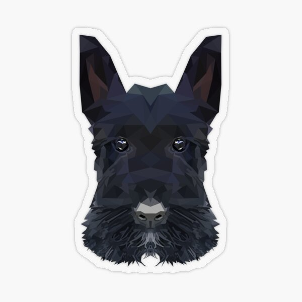 Scottish terrier Transparent Sticker