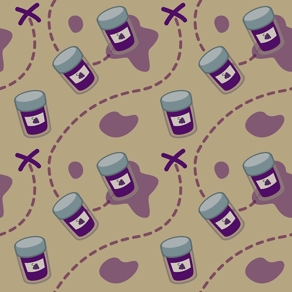 'X' Marks the Grape Jelly by azdion