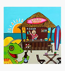 Caribbean Beach Bar Photographic Print