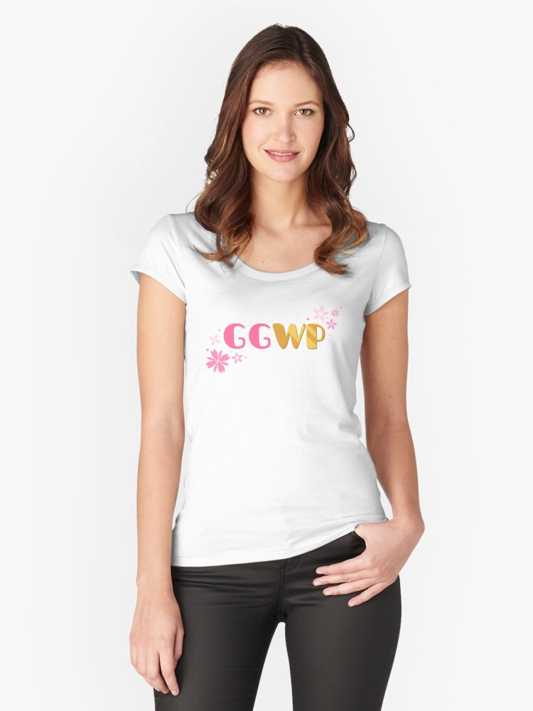 GGWP Women's Fitted Scoop T-Shirt Front