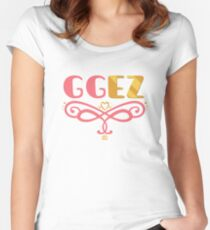 GGEZ Women's Fitted Scoop T-Shirt