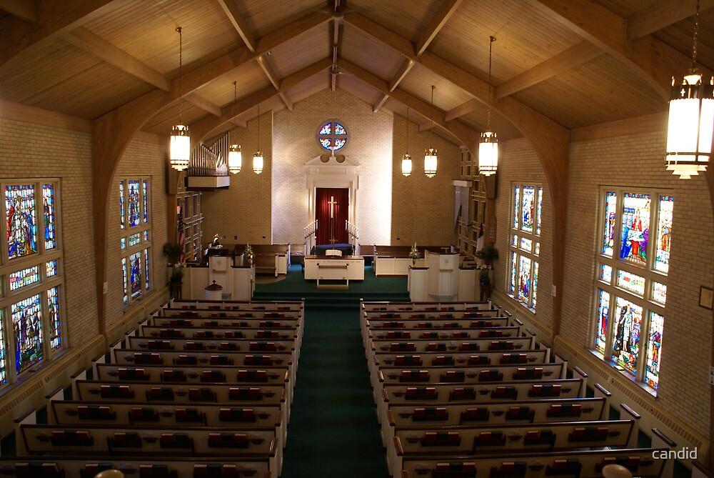 Wedding Altar by candid
