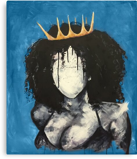 Naturally Queen I BLUE by DaCre8iveOne