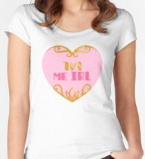 1v1 Me IRL Women's Fitted Scoop T-Shirt