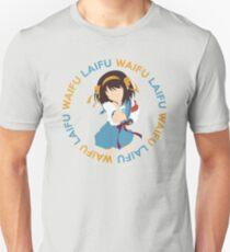 Haruhi Waifu Inspired Anime Shirt Unisex T-Shirt