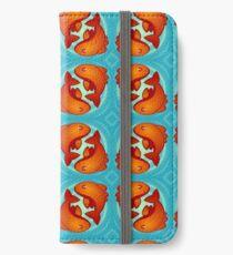 Orange Fishie Friends iPhone Wallet/Case/Skin