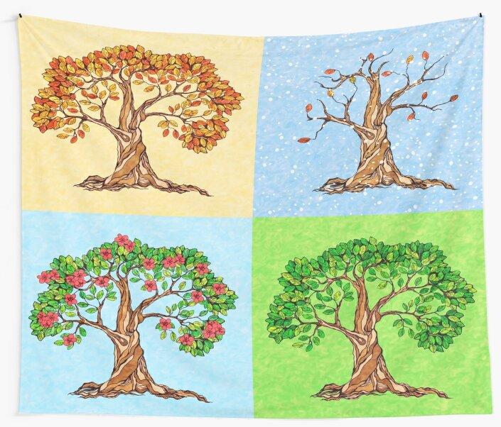 Four Seasons by NomadicMarket
