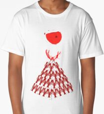 Lobster Dominance Hierarchy - Fire Red  Long T-Shirt