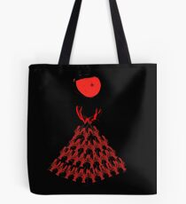 Lobster Dominance Hierarchy - Fire Red  Tote Bag