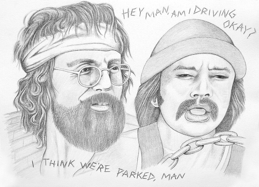 Cheech & Chong... driving or parked? by cdailey2017