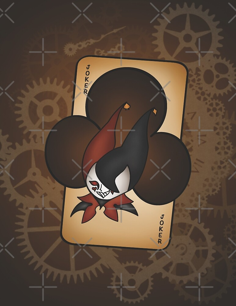 Joker Playing Card by DiceLeo