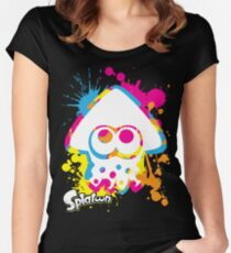 Splatoon Women's Fitted Scoop T-Shirt