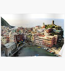 Vernazza, Italy Poster
