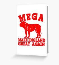 MEGA BULLDOG Greeting Card