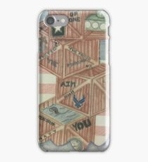 Stacked Against the Odds iPhone Case/Skin