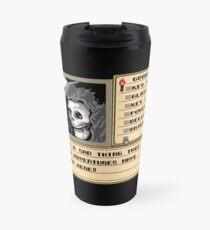 NES Grim Reaper Game Screen Travel Mug