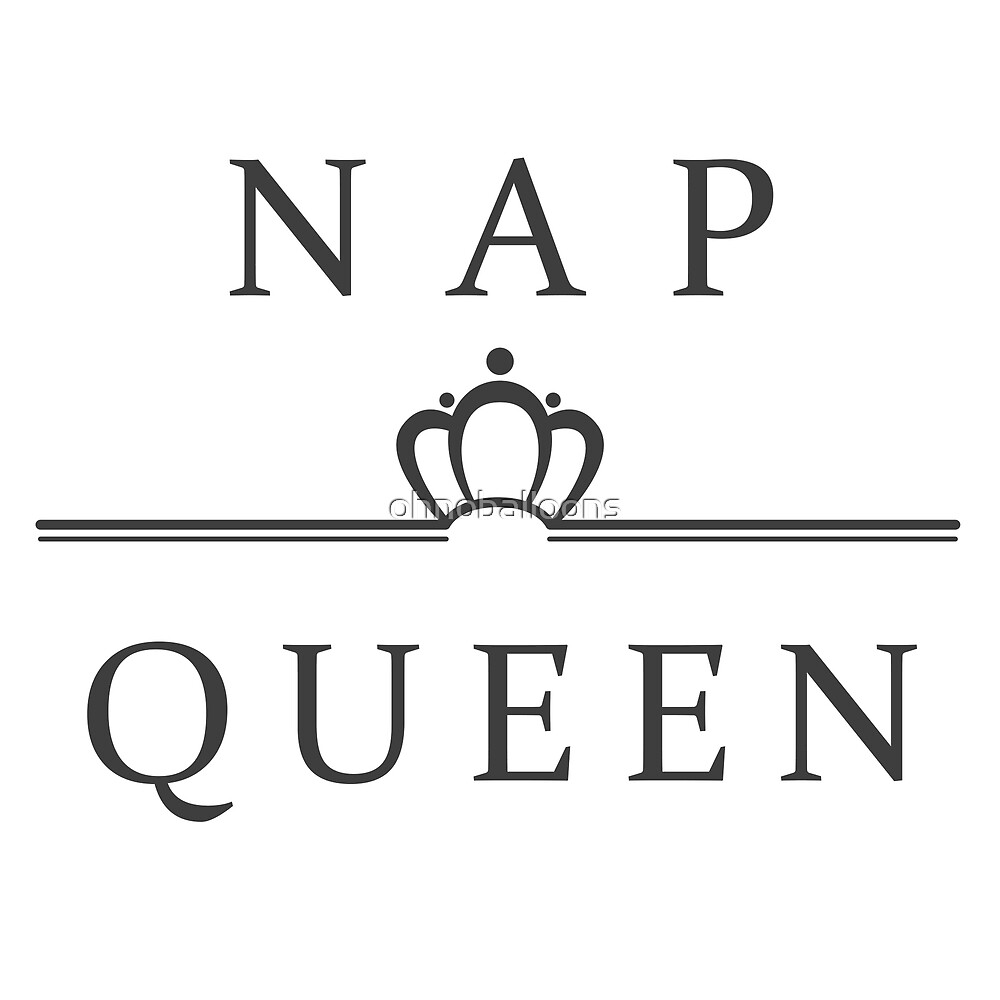 nap queen by ohnoballoons