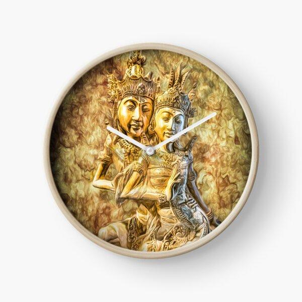 Bali Dancers Clock