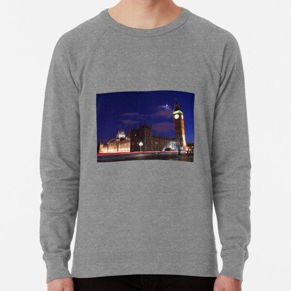 London at Night Lightweight Sweatshirt
