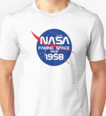 FAKING SPACE SINCE 1958 Unisex T-Shirt