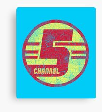 CHANNEL 5 (Tim and Eric Awesome Show, Great Job!) Canvas Print