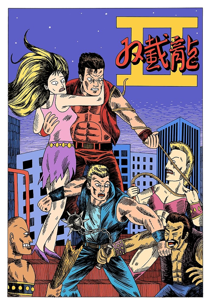 Double Dragon II by jackteagle
